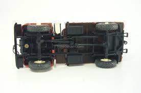 gaz 66 model cars gaz 66 ac 30 66 184 fire engine red white russian
