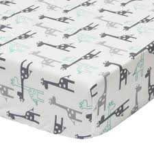 Timber Creek Convertible Crib by The Peanut Shell Uptown Giraffe Fitted Sheet By The Peanut Shell