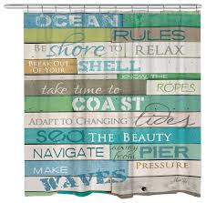 Beachy Shower Curtains Awesome Shower Curtains Decor With Shower