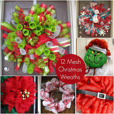 christmas mesh wreaths 12 ideas for christmas mesh wreaths diy candy