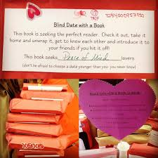 Seeking Blind Date February Is Library Lover S Month Celebrate With Us Try A