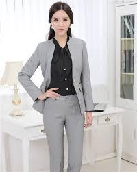 lady pant suits plus size s 3xl women wedding black pants suits
