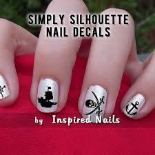 best 25 pirate nails ideas on pinterest pirate nail art skull
