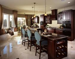 Kitchen Wine Cabinets 84 Custom Luxury Kitchen Island Ideas U0026 Designs Pictures