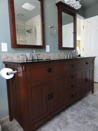 Medallion Bathroom Cabinets by This Lovely Master Bathroom In Reston Va Features Medallion