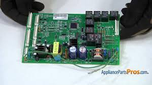 refrigerator main control board part wr55x10942p how to replace