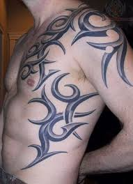 dolphin shoulder tattoos tribal chest for and