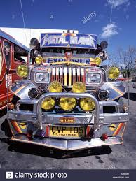 A Jeepney Public Transport In The Philippines Subic Bay Luzon