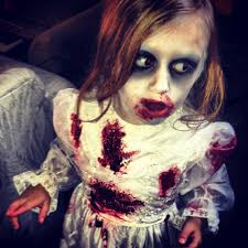 scary childrens halloween costumes zombie kids makeup halloween time pinterest costumes