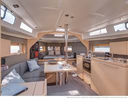 Power Boat Interiors Beneteau Oceanis 38 Salon She Will Be On Display At The 2013 St