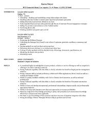 international relations specialist resume sales specialist resume samples velvet jobs