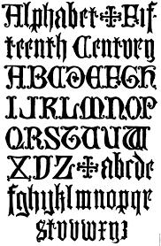 178 u2013 english gothic letters 15th century f c b