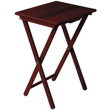 Small Folding Side Table Coffee Table Mahogany Side Table Folding Coffee Table
