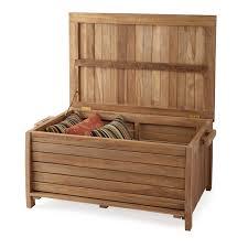wood garden storage boxes