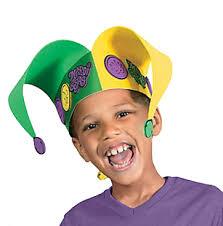 mardi gras jester costume mardi gras jester hat craft kit carlex online