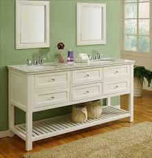 Antique Looking Bathroom Vanity Bathroom Shelves J And International White Mission Style