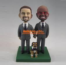 cake toppers bobblehead same wedding cake topper bobblehead custom wedding