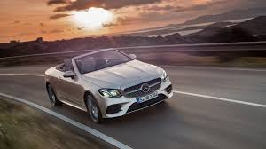 the 2018 mercedes e class cabriolet has arrived in time for spring