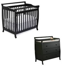 Davinci Mini Crib Emily Mini Crib With Changing Table Shelby