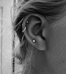 ear piercing hoop best 25 cartilage piercing hoop ideas on cartilage