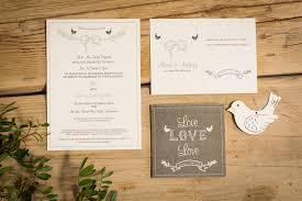 bird wedding invitations birds wedding invitations by paper dates notonthehighstreet