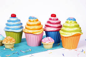 cupcake canisters for kitchen birthday decorating ideas for adults