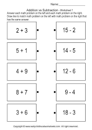 addition and subtraction brain teaser worksheets 1