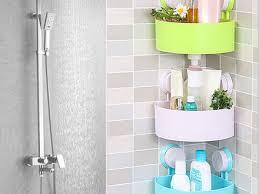 26 suction bathroom shelf home bathroom corner shelf suction rack