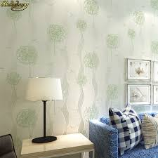 papier peint pour bureau beibehang grand pissenlit papier peint pour salon chambre
