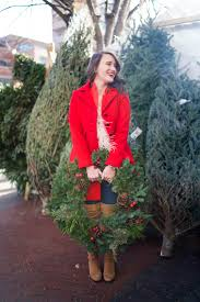 christmas tree shopping in nyc covering the bases fashion and