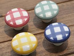 boutons de cuisine boutons vichy commode bouton tiroir tire poignées en céramique