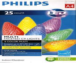 philips led lights philips 200ct led c6 string lights