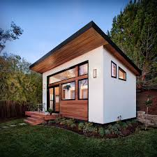 Backyard House Ideas This Small Backyard Guest House Is Big On Ideas For Compact Living