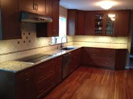 Wall Hung Kitchen Cabinets by Dazzling Cherry Kitchen Cabinets With Red Cherry Kitchen Cabinets