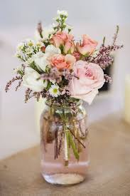 jar flower arrangement 1000 ideas about wedding amusing wedding flower centerpieces