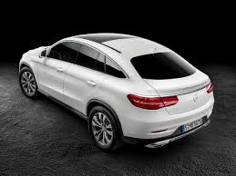 mercedes benz melds suv and coupe styling for gle coupe sae