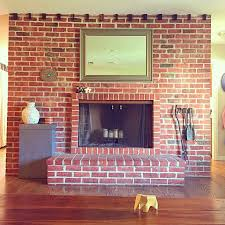 brick fireplace to paint or not to paint design necessities