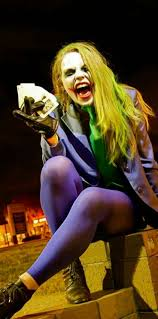Female Joker Halloween Costume by The 25 Best Disfraz De Guason Mujer Ideas On Pinterest Disfraz