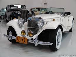mercedes 500k 1936 mercedes 500k roadster replica daniel company
