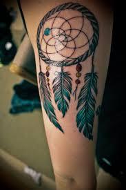 dream catcher tattoo images u0026 designs