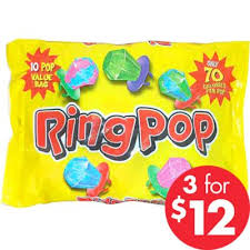 where can i buy ring pops topps ring pops 10pc party city