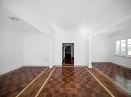 Checkerboard Laminate Flooring Striking Floor Creates Flow And Unity In This 1930s Apartment