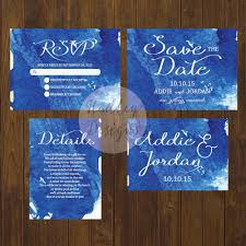 Cheap Wedding Invitations And Response Cards Hadley Designs Watercolor