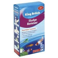 king british sludge remover pond water treatment 250ml at wilko com
