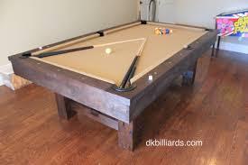 contemporary rustic gameroom dk billiards u0026 service orange