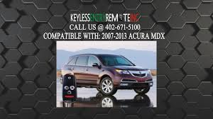 how to replace acura mdx key fob battery 2007 2008 2009 2010 2011