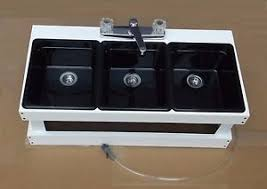 Portable Sink Mobile Concession Sink Compartment Sink M W - Kitchen sink portable