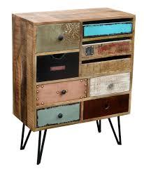 Schlafzimmer Zeta Kommode Kommode Vintage Bunt Bestseller Shop Für Möbel Und Einrichtungen
