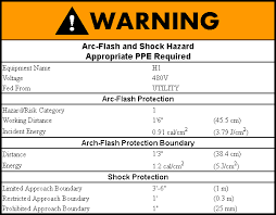 nfpa 70e arc flash table arc flash overview knowledge base design master software
