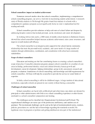 country report template middle school report on school counselling career guidence education
